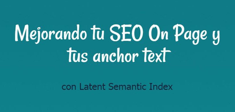 latent semantic index seo